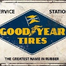 GoodYear Tires Service Station metal plate 40x30CM