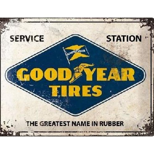 nostalgic art GoodYear Tires Service Station metal plate 40x30CM