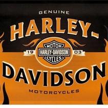 Harley-Davidson 1903 metal plate 40x30CM