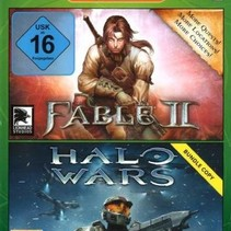 Double Pack Fable 2 + Halo Wars -xbox 360