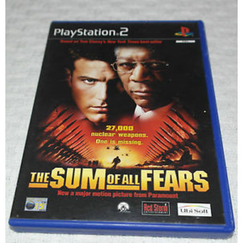 PS2 The Sum of all Fears Playstation 2