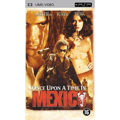 psp once upon a time in mexico umd film psp