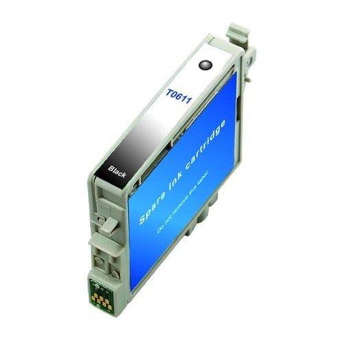 Epson Compatible Epson T0611 Inktcartridge (huismerk) - Zwart