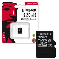 Kingston micro SD kaart 32GB + SD-adapter
