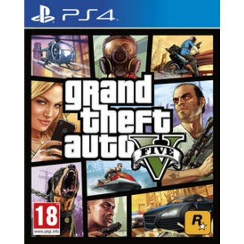 PS4 Grand Theft Auto 5 - PS4