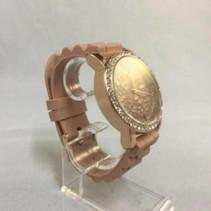 Souris D'or horloge dames (bruin)