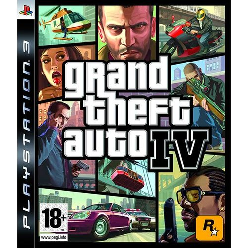 PS3 Grand theft auto 4 ps3