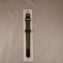 applewatch band - lime groen/zwart - 42mm