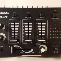 Skytec STM-2211 3-kanaals mengpaneel zwart