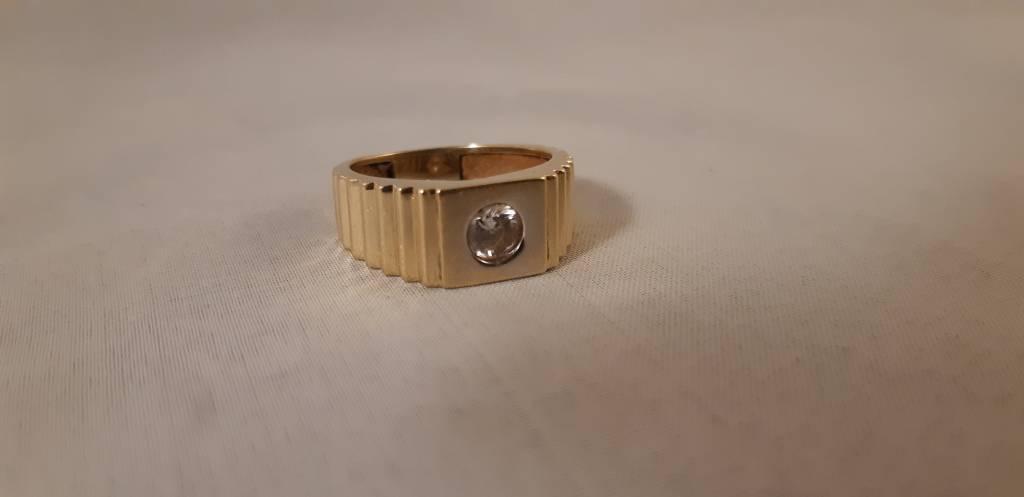 Gouden ring 14 krt