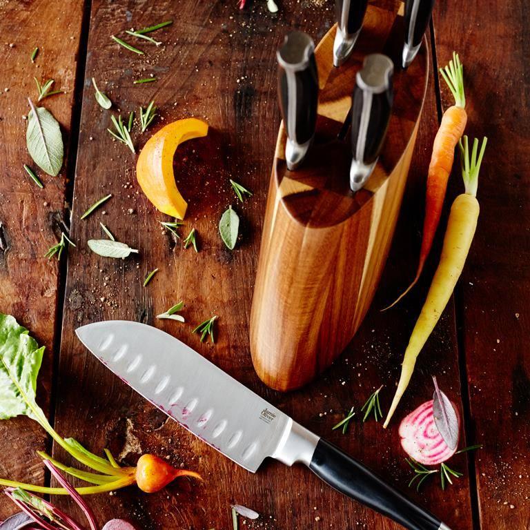 Jamie Oliver Jamie Oliver messenblok - 5-delig - acaciahout