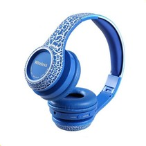 Crack Wireless MS-992A Headset - blauw