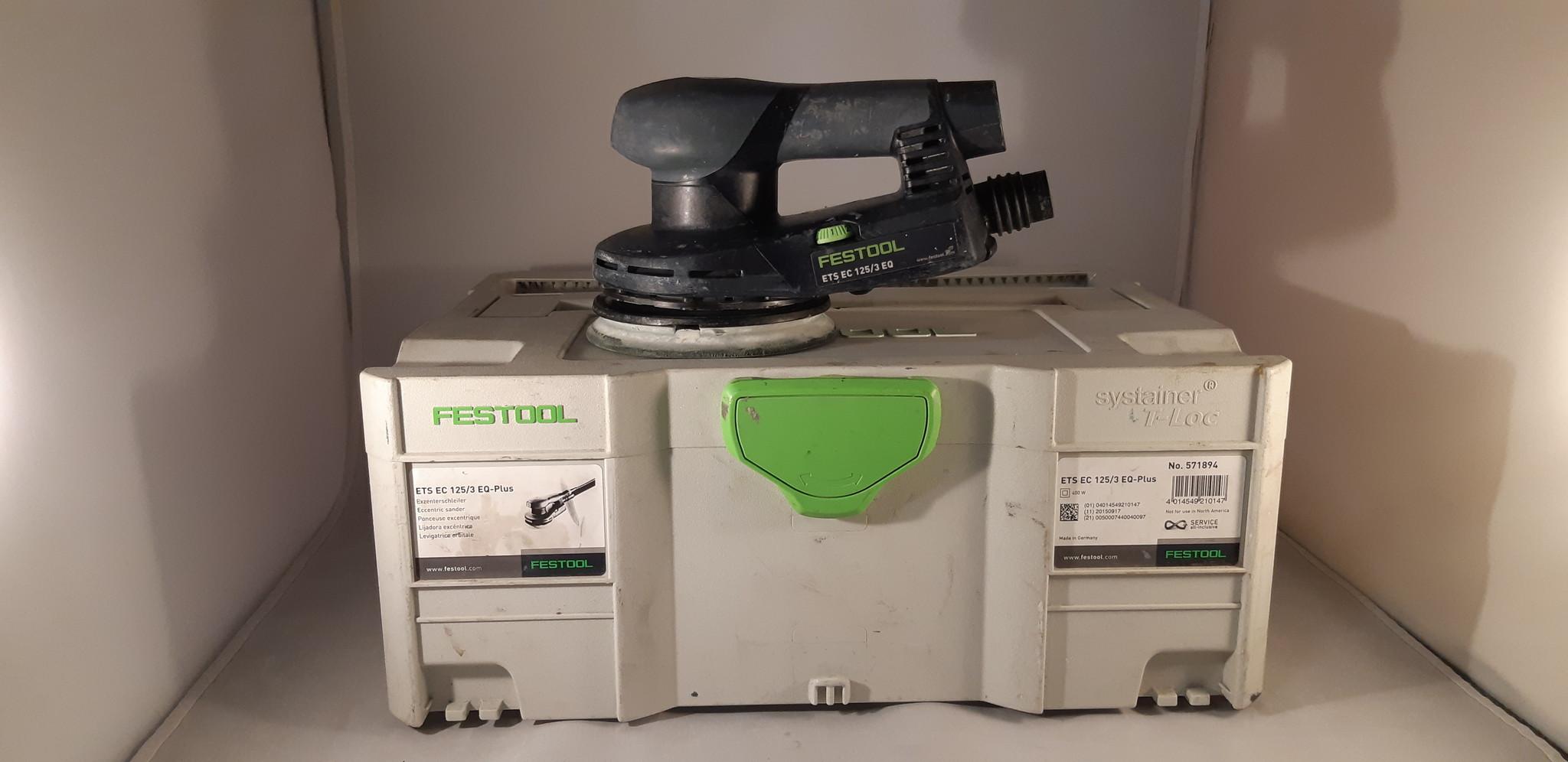 Festool ETS EC 125/3 EQ-Plus excenterschuurmachine