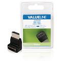Valueline Valueline Gehoekt HDMI-Connector - HDMI Female Zwart