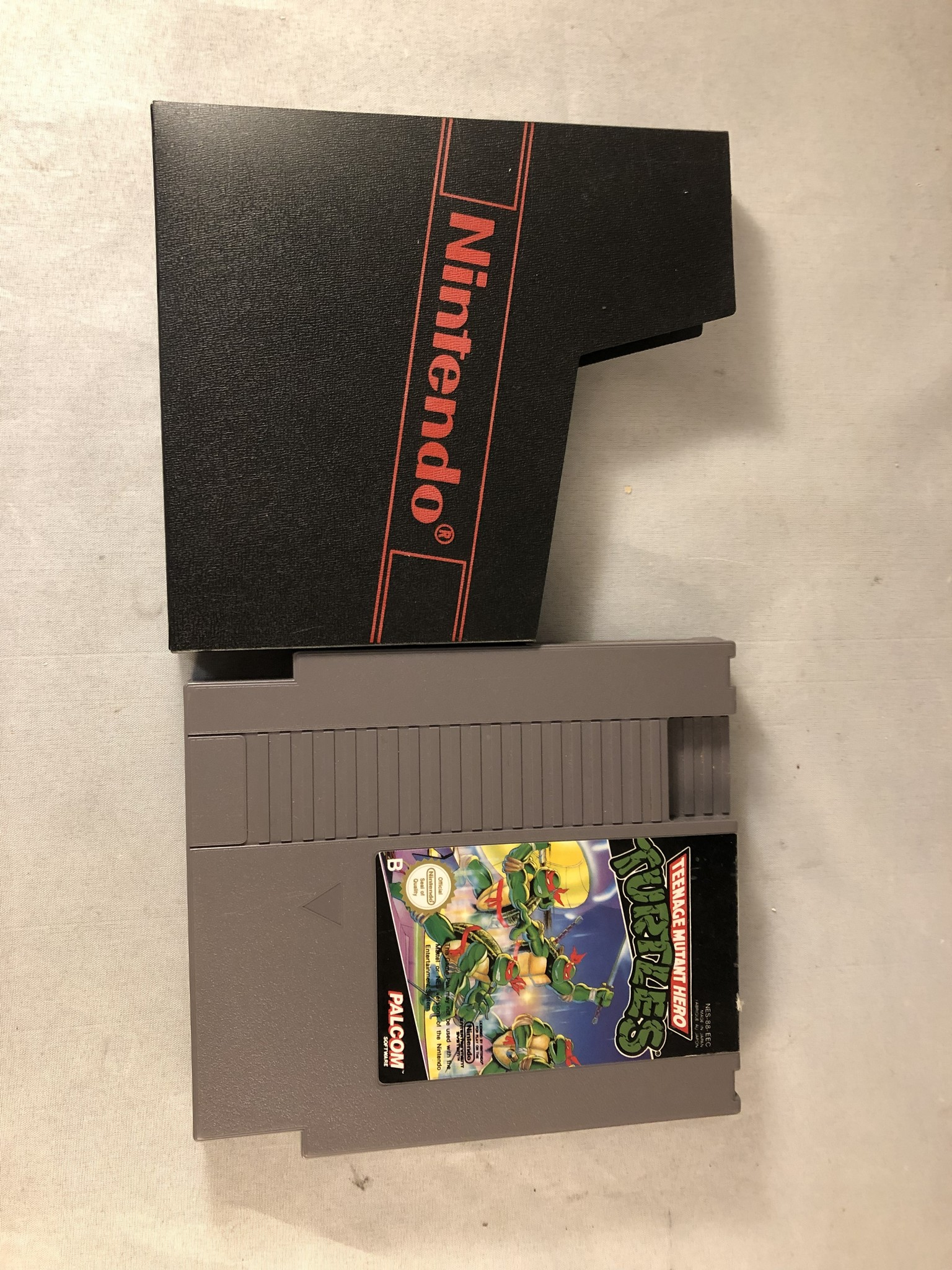 Nintendo NES Teenage mutant hero turtles