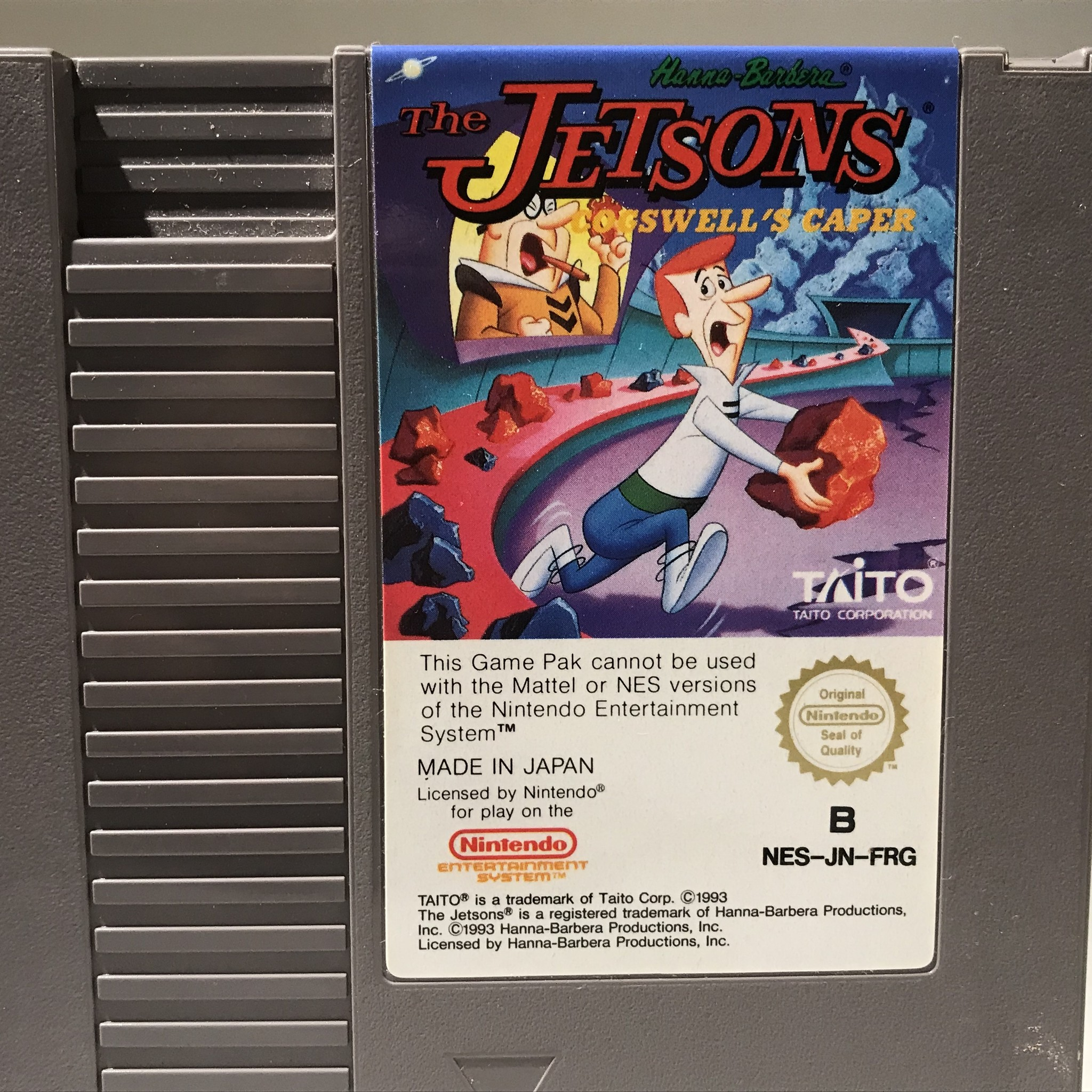 jetsons cogswell's caper nes