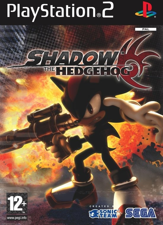 playstation 2 SEGA Shadow The Hedgehog PlayStation 2 Engels video-game