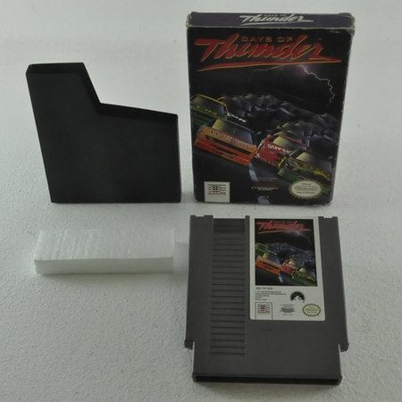 Days of thunder Nintendo NES game