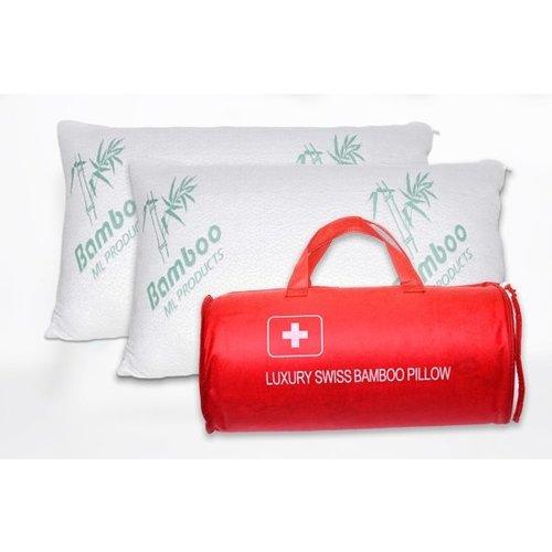 Luxury swiss Luxury Swiss Bamboo Pillow - Bamboe kussens - Hoofdkussen - 50x70 cm