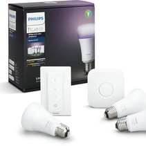 Philips Hue White and Color Ambiance - Starterkit - E27
