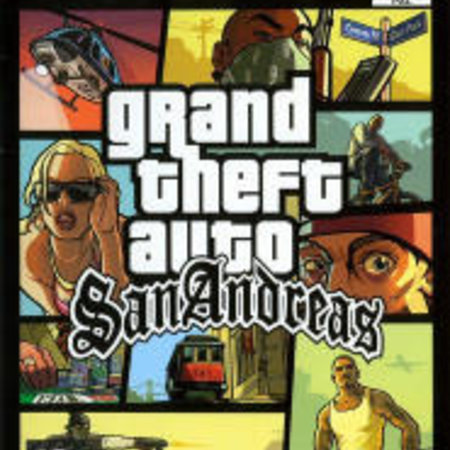 ps2 Grand Theft Auto - San Andreas
