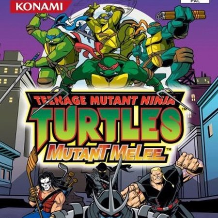 ps2 TMNT mutant melee - DUITS