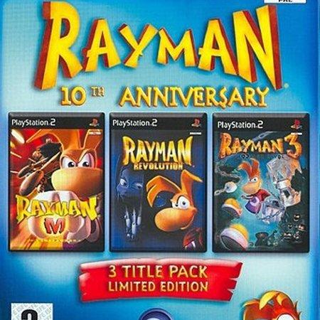 ps2 Rayman 10th Anniversary /PS2