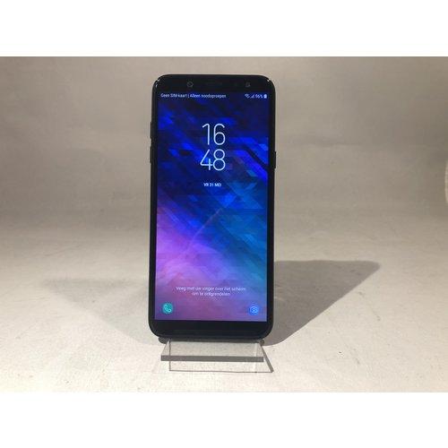 Samsung Samsung Galaxy A6 (2018) Zwart