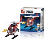 Sluban Sluban Fire Serie Helikopter - M38-B0622D