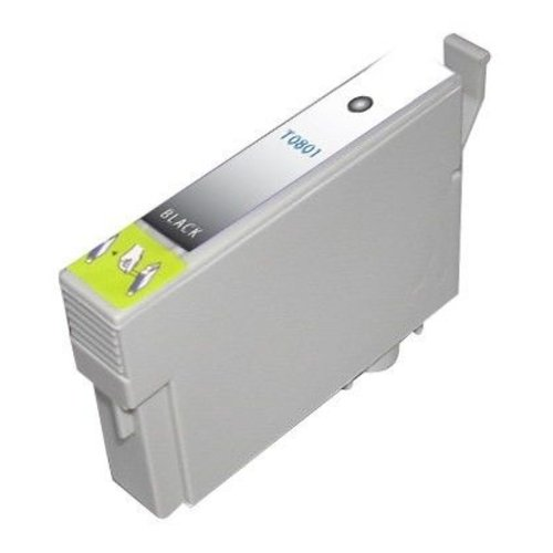 Epson Compatible Epson T0801 Inktcartridge (huismerk) – Zwart
