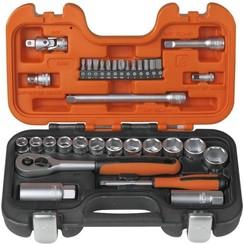 Bahco S330 Dopsleutelset 34- delig - 1/4'' en 3/8''