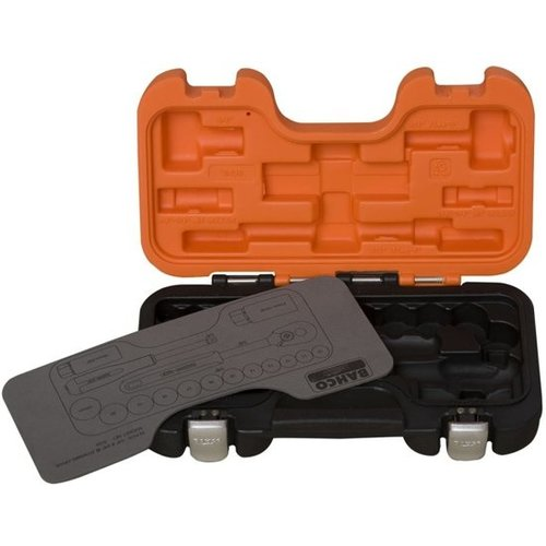 Bahco Bahco S330 Dopsleutelset 34- delig - 1/4'' en 3/8''