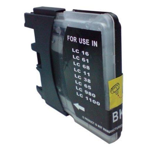 brother Compatible Brother LC 980/1100BK Inktcartridge (huismerk) – Zwart