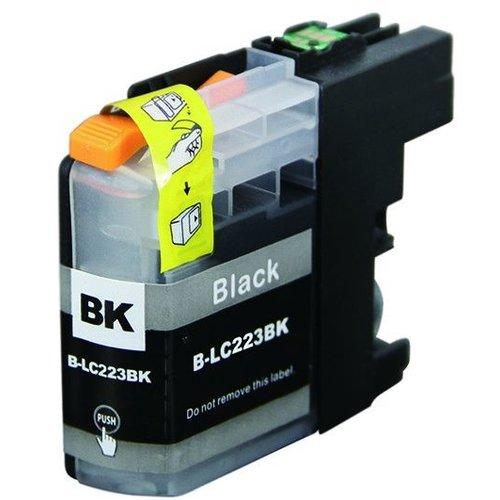 brother Compatible brother LC223 BK Inktcartridge (huismerk) – Zwart