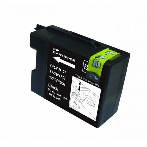 brother Compatible Brother LC 1280 BK Inktcartridge (huismerk) – Zwart