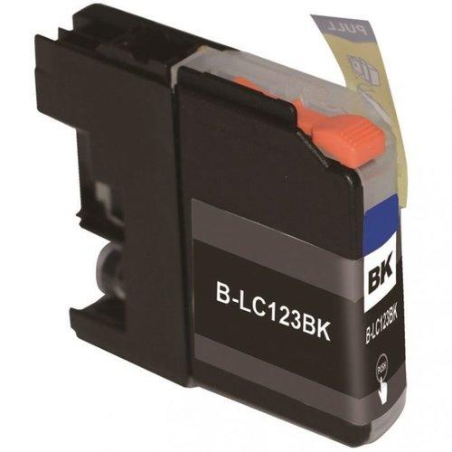 brother Compatible Brother 123 BK Inktcartridge (huismerk) – Zwart