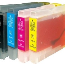 Brother 970/1000 Inktcartridge (huismerk) – Multipack