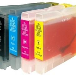 Brother 970/1000 Inktcartridge (huismerk) – Multipack