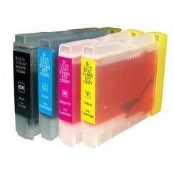 Compatible Brother 970/1000 Inktcartridge (huismerk) – Multipack