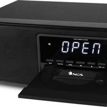 NGS - Skybox - Bluetooth speaker - Radio / CD Speler - 60W - Zwart - CD