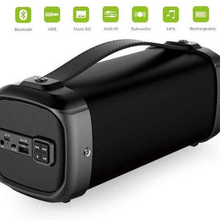 Stereo-luidspreker boombox Cigii F61, Bluetooth, USB, micro SD, FM, AUX, Mic
