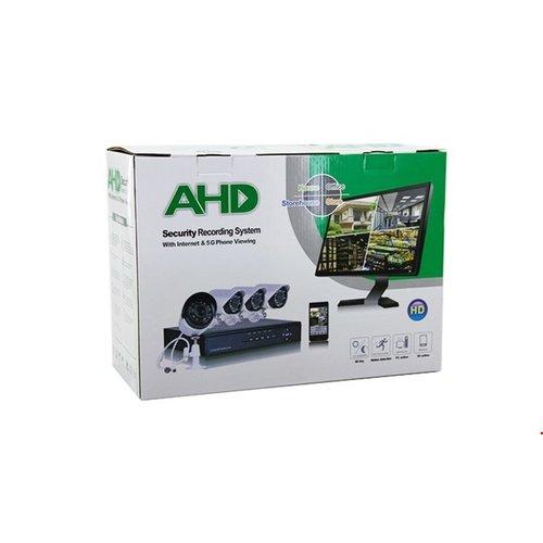 AHD AHD security system - 4 camera's