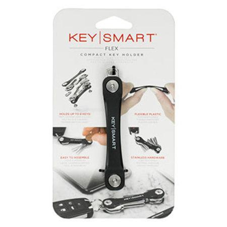 KeySmart KeySmart Flex Compact Keyholder Black Clam