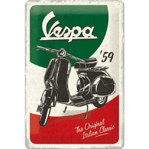 nostalgic art Wandbord - Vespa original - 20x30cm