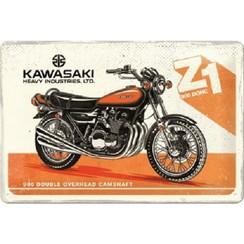Wandbord - Kawasaki Z1 900DOHC -20x30cm