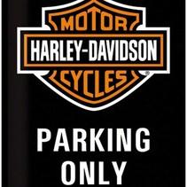 Harley Davidson NOSTALGIC ART 30X40 TIN BORD