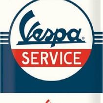 Wandbord - Vespa Service -30x40-