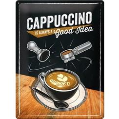 Wandbord - Cappuccino good idea