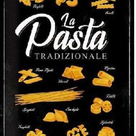 Nostalgic Art Merchandising Wandbord - La Pasta Tradizionale -30x40cm-
