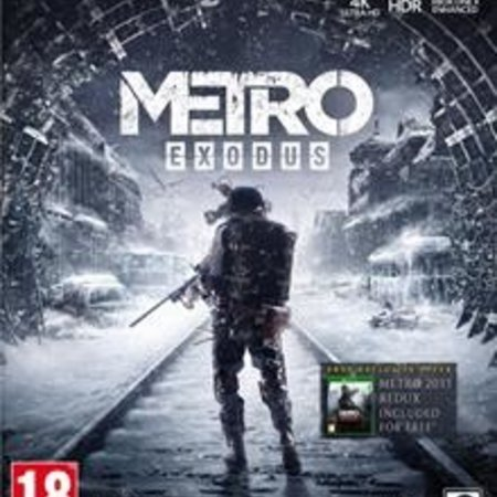 xbox one Metro Exodus Pre-Order Edition